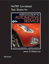 NEW NATEF Correlated Task Sheets for Introduction to Automotive Service