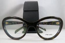 Prada VPR 25R 2AU-1O1 Dark Tortoise New Women Authentic Eyeglasses 54mm w/Case