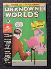 1961 UNKNOWN WORLDS #12 VG American Comics Group