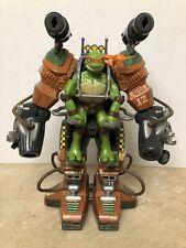 2008 Playmate Mirage Studios Ninja Turtles Battle Suit with Michelangelo Figure!