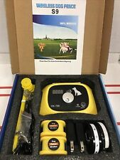 Wireless Dog Fence 2 Dog System S-9 - Free Fast Shipping Open Box