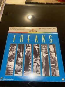 LaserDisc Freaks Extended Play- Wallace Ford Leila Hyams Olga Baclanova
