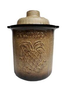 Vintage RUMTOPF 829-29 by SCHEURICH KERAMIK West Germany Pottery, Rum Fruit Jar