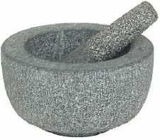 Victor Pestle and Mortar, Granite, Grey, 20 cm