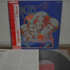 The Miracles Don't Cha Love It Japan LP 1975 Victor SWX-6173 Insert Obi Motown