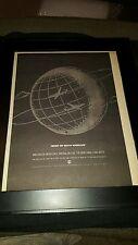 Van Halen Best Of Both Worlds Rare Original Radio Promo Poster Ad Framed!