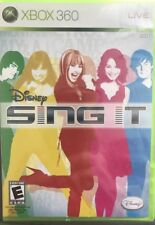 Disney Sing It (Microsoft Xbox 360) LOT OF 7 GAMES