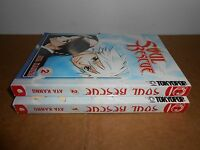 Soul Rescue vol. 1-2 by Kanno Aya Manga Graphic Novel Complete Lot in English