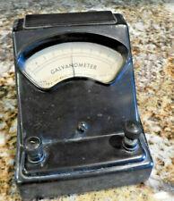 Vintage Welch Lab Galvanometer. Welch scientific company USA