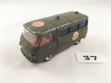 RARE CORGI TOYS nº 354 commer ambulance militaire original Diecast Vert 1964-67