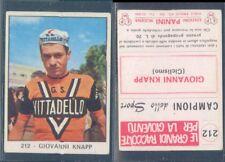 FIGURINA CAMPIONI DELLO SPORT(CICLISMO)PANINI 1966/67-GIOVANNI KNAPP-N.212