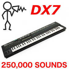 250,000+ Yamaha DX7 DX5 TX7 TX802 TX816 Sound Program Patch Library - D0wnload