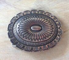 Sterling silver buckle Vintage Native American