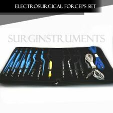 High Class Bipolar Bayonet Forceps Electrosurgical Instruments Set