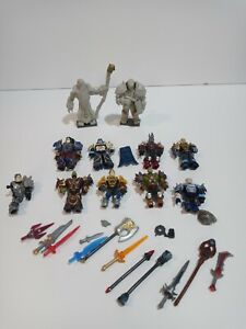 MEGA BLOKS WORLD OF WARCRAFT LOT OF 10 PLUS WEAPONS💥