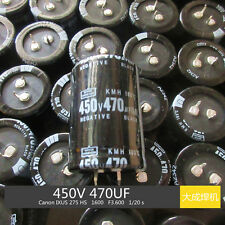 4pcs 450V 470uf 35x50MM Nippon Electrolytic Capacitor Radial 105℃ Snap  #E086 YX