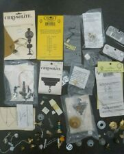 Mixed Lot Miniature Dollhouse Lighting Electrical Fixtures Supplies Parts 1:12