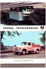 Matchbook Cover - 40 strike - International Trucks, Indianapolis, Indiana