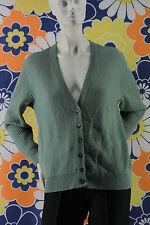 gilet cacharel la chemiserie vert verdeaut t 42 en laine pur vintage