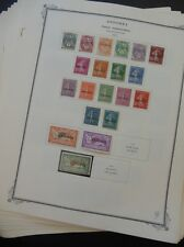 FRENCH ANDORRA : Beautiful mostly Mint collection on album pages 1931-1974