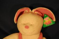 """Bunny Rabbit With Clothes Soft Stuffed Lovey Toy 18"""" Sugar Loaf Pink Plush"""