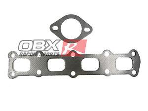OBX Graphite Gasket Header Exhaust Gasket For Mitsubishi Lancer 2.0L DOHC