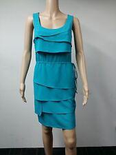 NEW - Calvin Klein - Size 10 - Lago Tiered Cinch Waist Dress - Turquoise - $99
