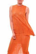Keepsake Women's Stylish Nice Think Twice Lace Top Tangerine S RRP $140 BCF79