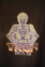 Tron Movie 2010 Film Mens Men's Extra Large XL Logo Black T-Shirt Tee