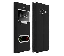 Etui Housse Pochette Double Fenetre Flip Samsung Galaxy S 7 Edge