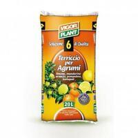 VigorPlant Terriccio per Agrumi 20 Litri Terriccio Limone Mandarino Arancio