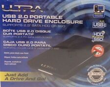 "Ultra USB 2.0"" -Portable Hard Drive Enclosure"