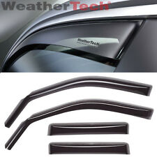 WeatherTech Side Window Deflectors - Ford Super Duty Crew Cab - 1999-2016 -Dark