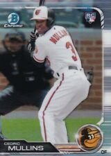 2019 BOWMAN CHROME RC CEDRIC MULLINS BALTIMORE ORIOLES ROOKIE - C3303