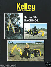 Equipment Brochure - Kelley - Series 30 - Backhoe (E3016)