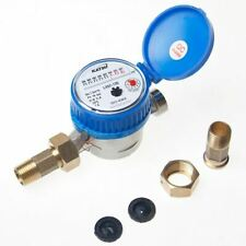 Water meter copper, cold, dry, 13mm