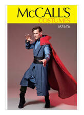 M7676 Sewing Pattern McCall's 7676 Men's Costumes Doctor Strange S-XXL 34-52