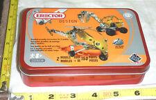 Meccano ERECTOR Design Kit - 2 Models (Over 150 Parts)  #842707E - NIB