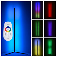 Modern RGB Lamp - LED Corner Floor Lamp - LED Light Strip...