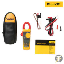 Fluke 324 True RMS Clamp Meter calibrated with Leads, Temperature Probe and Case