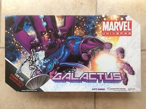 Marvel Universe GALACTUS + SILVER SURFER SDCC Exclusive  New in Box (see photos)