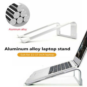 Aluminium Portable Laptop Holder Stand Tray Riser For iPad MacBook Notebook