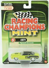Racing Champions Mint 1971 Plymouth Barracuda 1:64 Diecast Car RC009