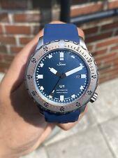 Sinn U1 B 1010.0102 Matte Blue Dial