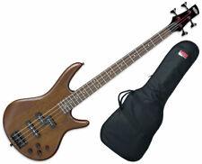 Ibanez GSR200B GSR Series 4-String Bass Guitar - Walnut Flat - Used