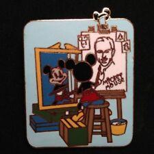 DISNEY PIN - MICKEY MOUSE Painting Walt Disney Self Portrait WDW Norman Rockwell