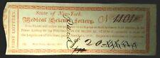 1815 Medical Science Lottery -Ny 1101