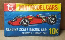 Vintage 1970 Topps Mini Model Cars Pack