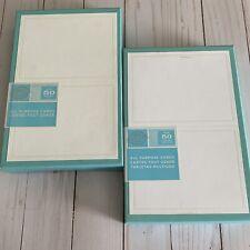 New 2 Boxes Gartner All Purpose Cards Envelopes Pearl White Boarder 50 Each Box