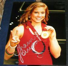 Shawn Johnson Olympic Gold Medal Gymnastics SIGNED AUTOGRAPHED 8x10 Photo COA